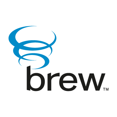 Qualcomm Brew logo vector