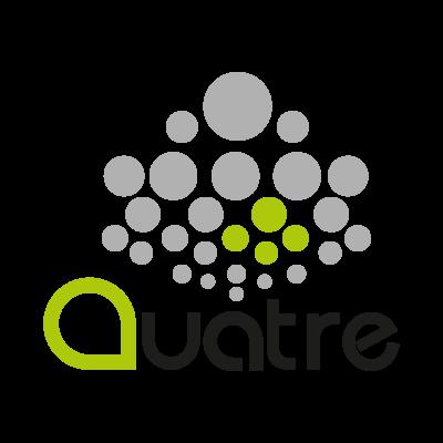 Quatre logo vector