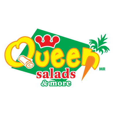 Queen Salads & More vector logo