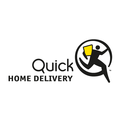 Quick Home Delivery logo vector