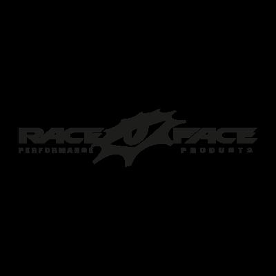 Race Face (black) logo vector