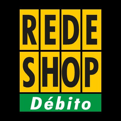 Rede Shop debito logo vector