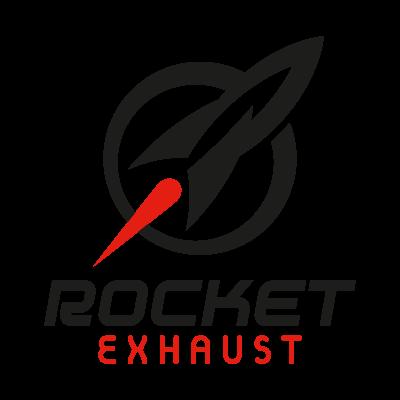Rocket Exhaust logo vector