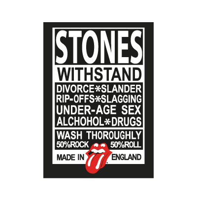 Rolling Stones Made in England logo vector