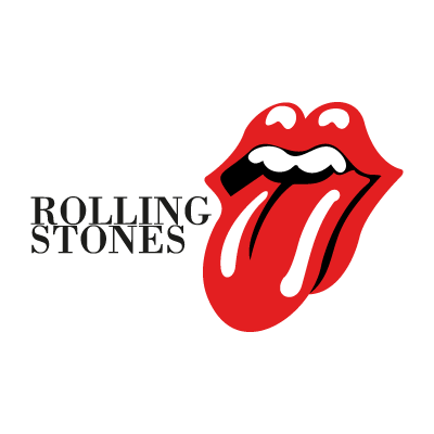 Rolling Stones (music) logo vector