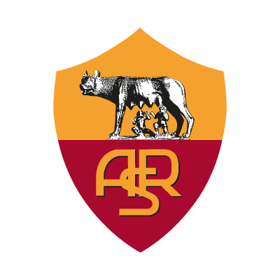 Roma club logo vector