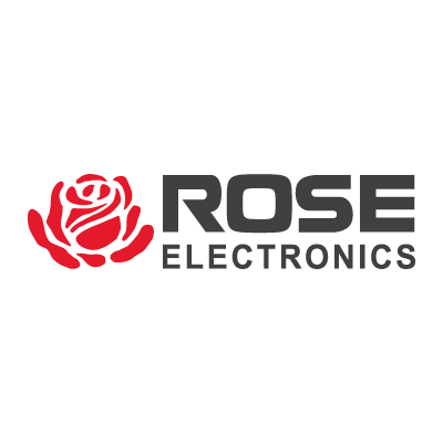 Rose Electronics logo vector