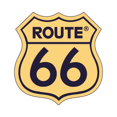 Route 66 logo vector