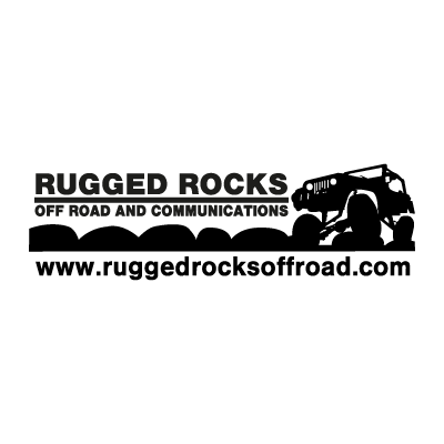 Rugged Rocks Off Road logo vector
