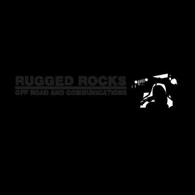 Rugged Rocks Off Road logo vector