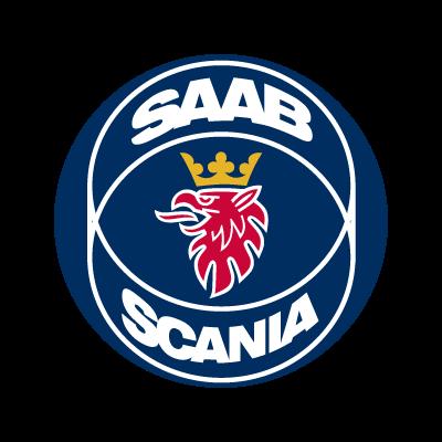 SAAB Scania logo vector