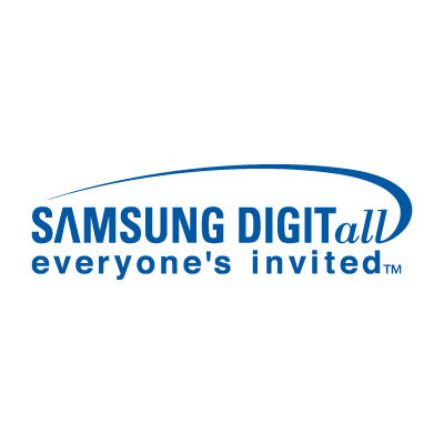 Samsung DigitAll logo vector