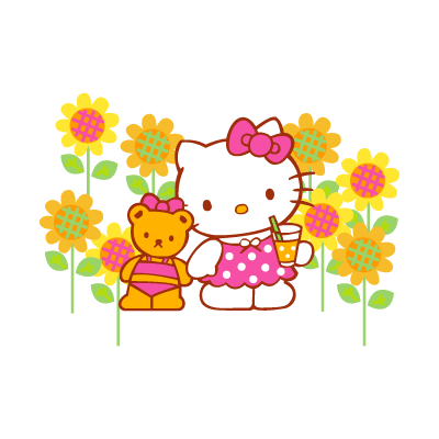 Sanrio – Hello Kitty logo vector
