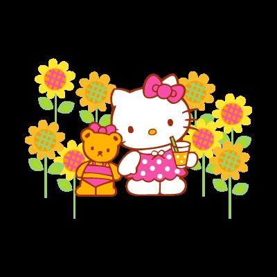 Sanrio – Hello Kitty logo vector