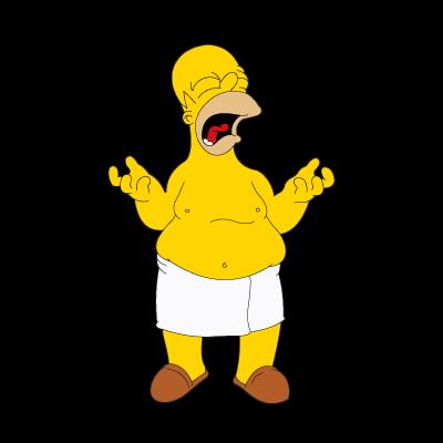 Simpsons logo vector