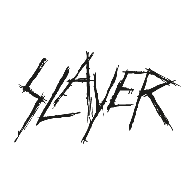 Slayer band vector logo