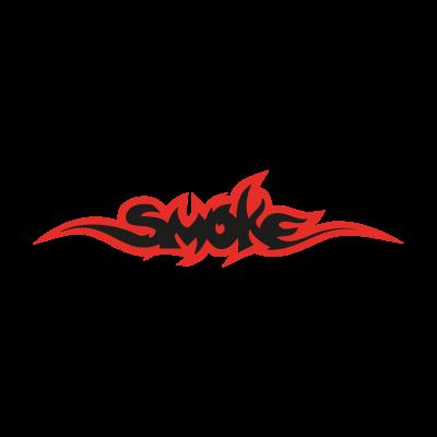 Smoke logo vector