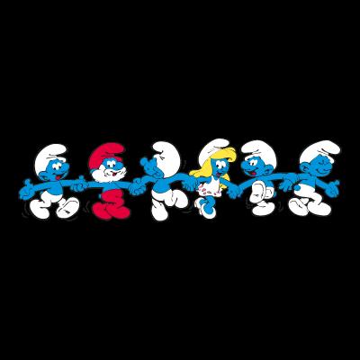 Smurfs logo vector