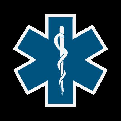 Star of Life logo vector