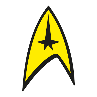 Star Trek logo vector