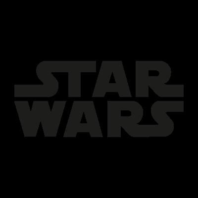 Star Wars film vector logo