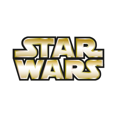Star Wars Gold logo vector