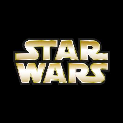 Star Wars Gold vector logo