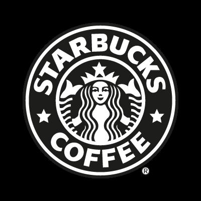 Starbucks Coffee black vector logo