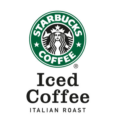 Starbuck's Iced Coffee logo vector