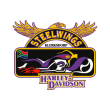 Steelwings Harley Davidson logo vector