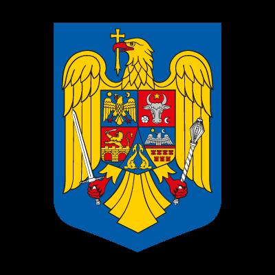 Stema Romania logo vector