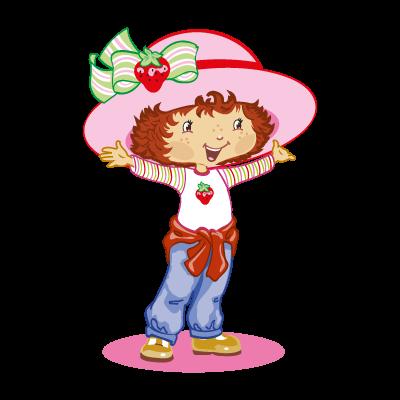 Strawberry shortcake logo vector