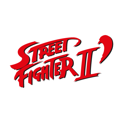 Street Fighter II logo vector