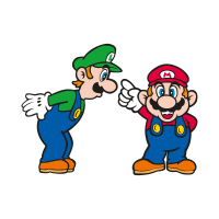 Super Mario Bros. vector logo