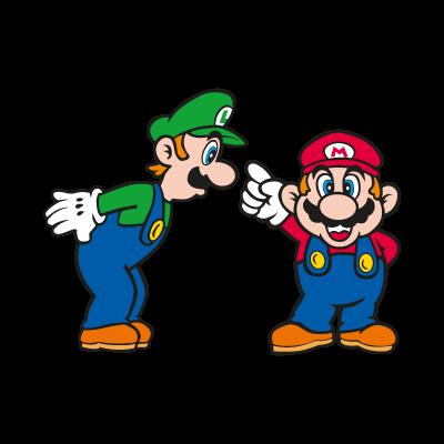 Super Mario Bros. logo vector