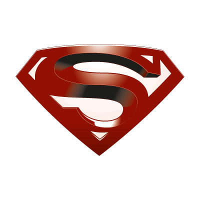 Superman return logo vector