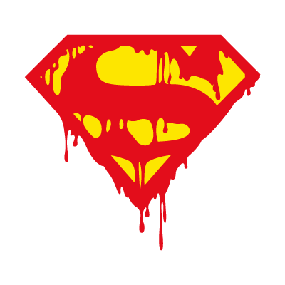 Superman's Death logo vector