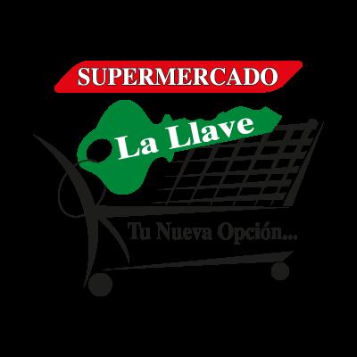Supermercado La Llave logo vector
