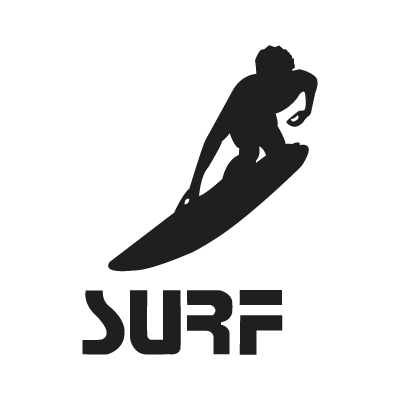 Surf logo vector