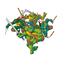 Teenage Mutant Ninja Turtles (.EPS) vector