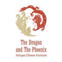 The Dragon and The Phoenix vector logo