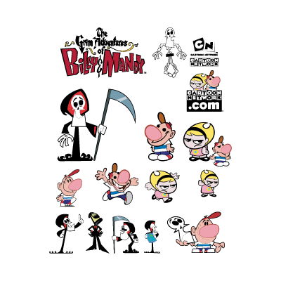 The Grim Adventures Of Billy & Mandy vector free