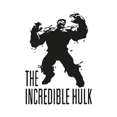 The Incredible Hulk logo vector
