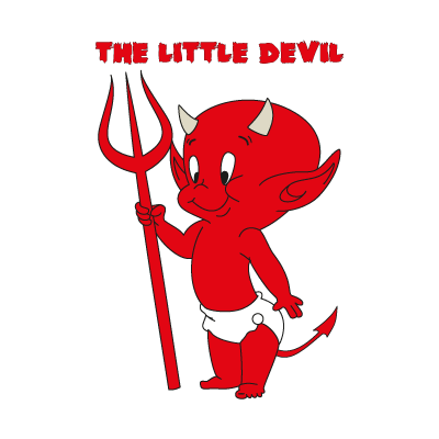 The Little Devil logo vector