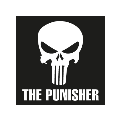 The Puniher logo vector