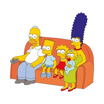 The Simpsons Family vector free download