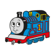 Thomas the Tank Engine logo vector