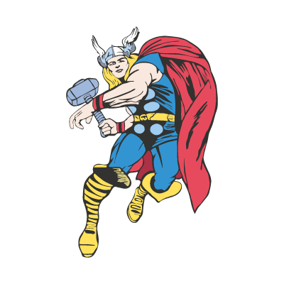 Thor Cartoon vector