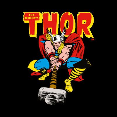 Thor Comics logo vector
