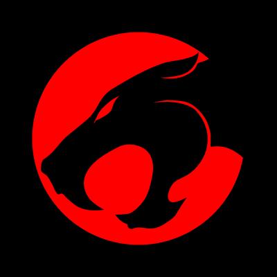 Thundercats emblem logo vector